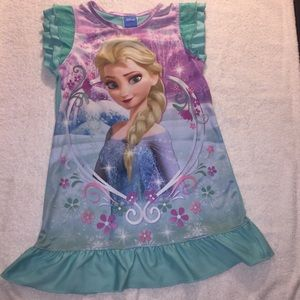 Free Disney top with purchase of Disney nightgown